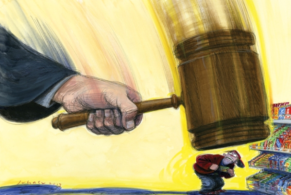Cruel and Unusual Punishment: The Shame of Three Strikes Laws